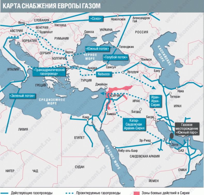 """Les États-Unis projettent de diviser l'Irak et la Syrie en """"États de pipeline"""""""
