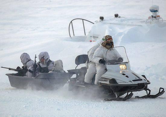 Enseñanzas de la brigada ártica de la Federación Rusa en la isla Kotelny