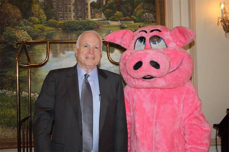 McCain, LC'deki seçimlere gözlemci olarak davet edildi, ancak davetiyeyi reddetti.