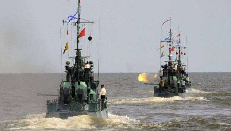 The Caspian Flotilla will train on the organization of air defense