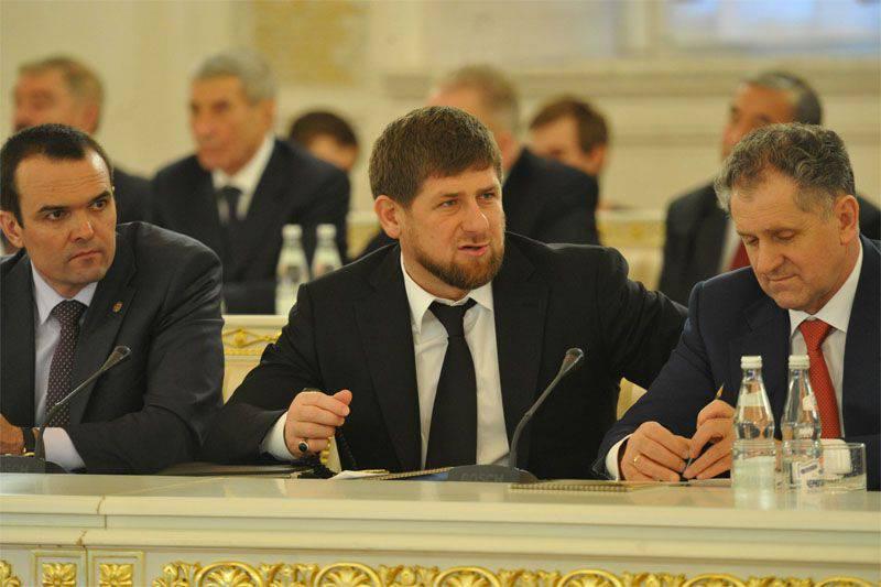 Çeçenya başkanı, Batı istihbarat teşkilatları tarafından oluşturulan uluslararası terör örgütlerinin olduğunu söyledi