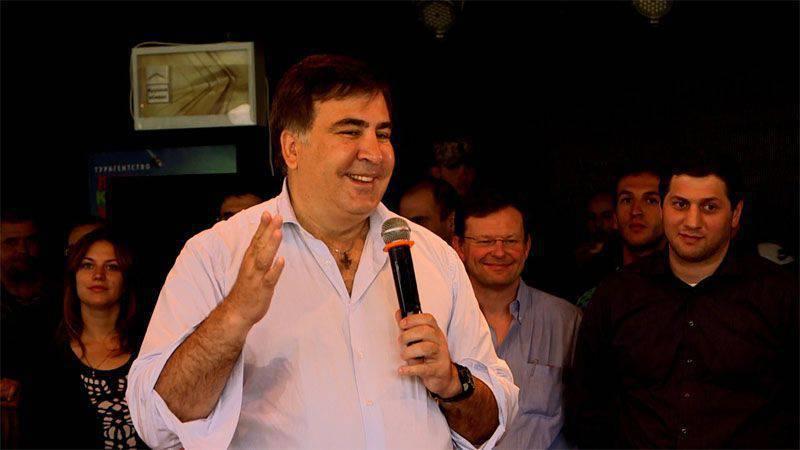 Antaketiziya for Saakashvili