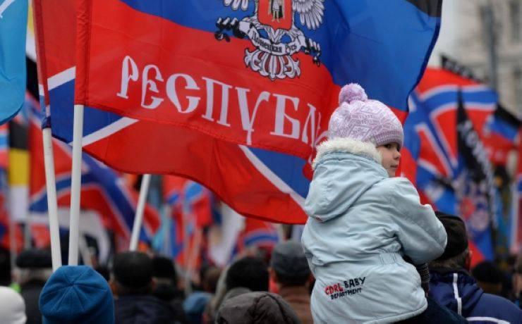 러시아의 Donbass와 re-Russification의 통합