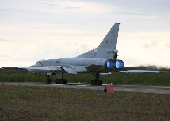 """In the exercises """"Center-2015"""" involved aircraft long-range aircraft"""