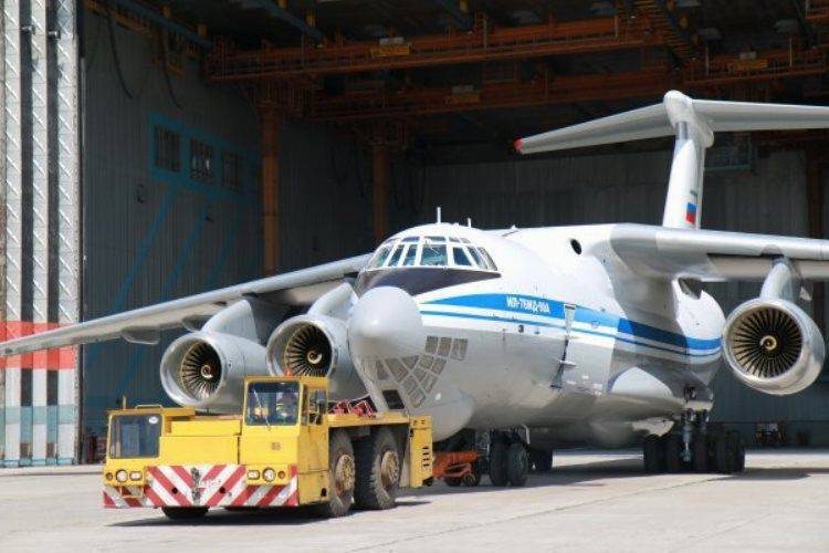 IL-76 will be equipped with a laser