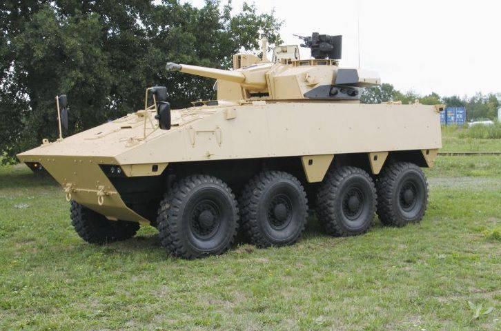 Nexter Systems는 현대화 된 BMP VBCI 버전을 개발했습니다.