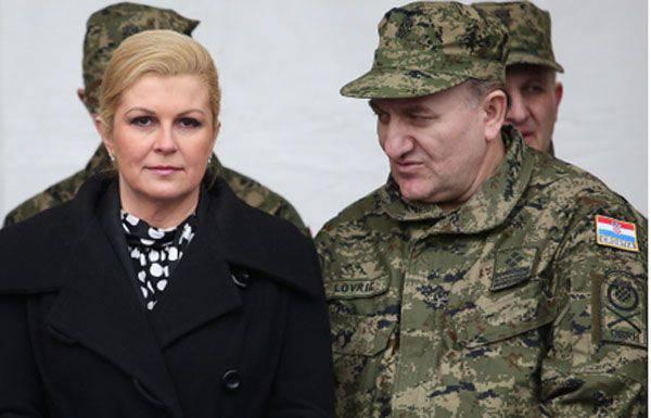 Il presidente croato mette in allerta l'esercito