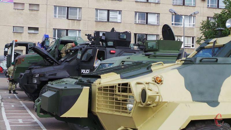 Ukrayna ordusu için iyileştirilmiş ekipmanlar