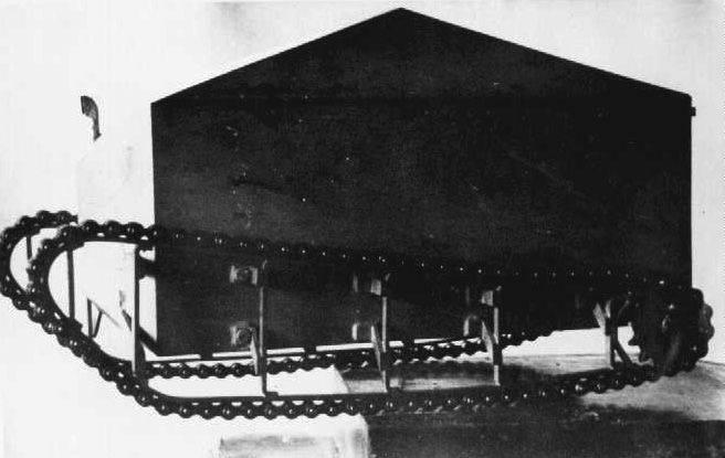 Tanks MacFay: schémas dessinés et problèmes techniques