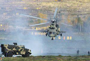 Gli aerei dell'esercito hanno fornito atterraggi e operazioni di assalto tattico