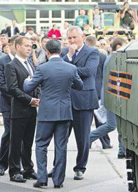 È stato difficile non notare il vivo interesse dei leader del governo russo in RAE-2015.