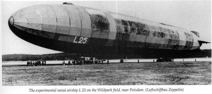 Potsdam diary of the airship commander