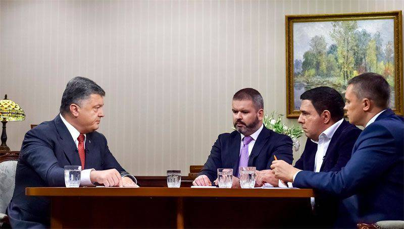 Poroshenko again told that he would return the Crimea, the Donbass and ensure the investigation of the case of executions on the Maidan