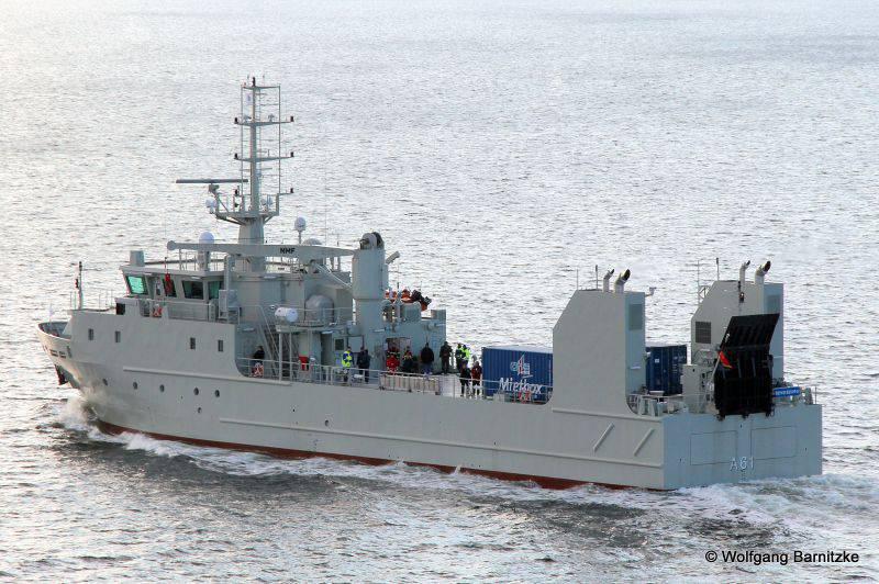 Media: gli Emirati Arabi Uniti hanno ricevuto navi siluro mascherate da navi ausiliarie