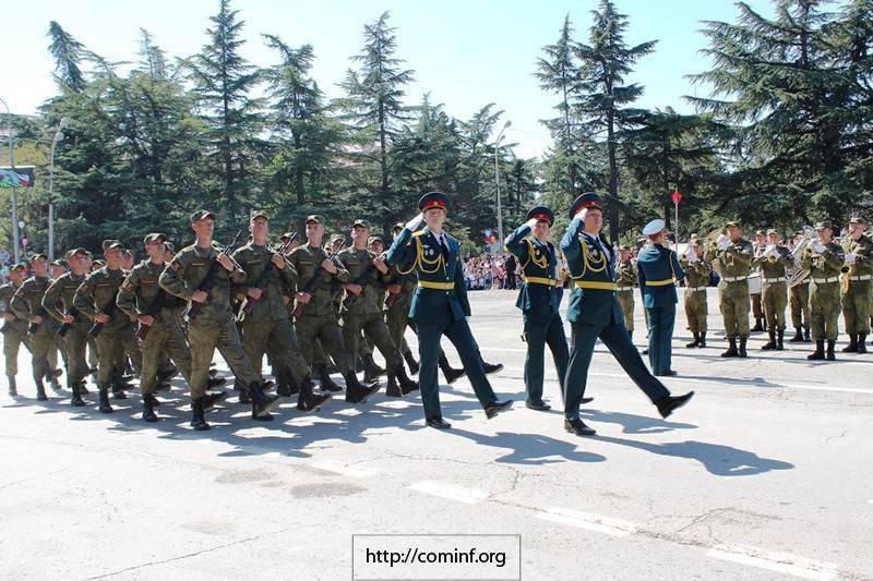 L'Ossétie du Sud a célébré le 25 anniversaire de la fondation de l'OSR
