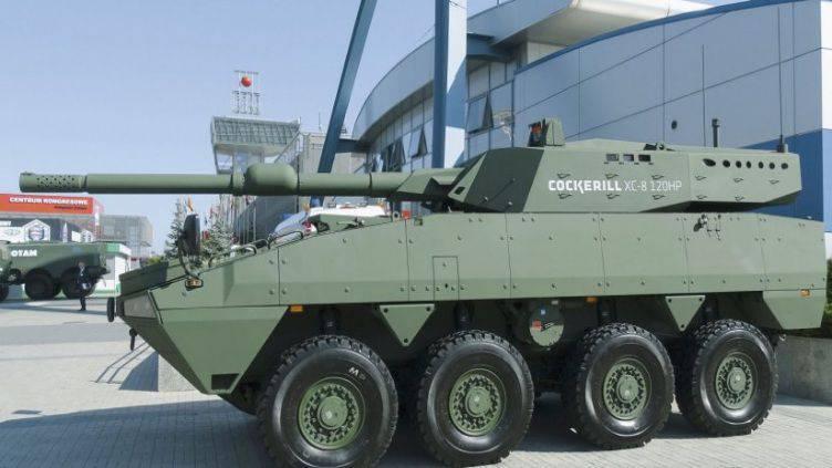 Nouveaux projets de véhicules blindés de la famille Rosomak (Pologne)