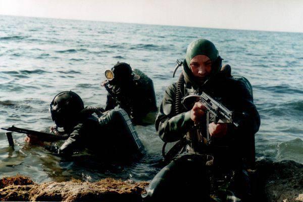 Fuerzas especiales subacuaticas