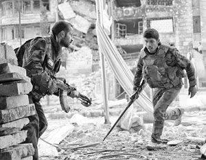 러시아 군은 ISIS를 사막으로 향하게해야합니다.