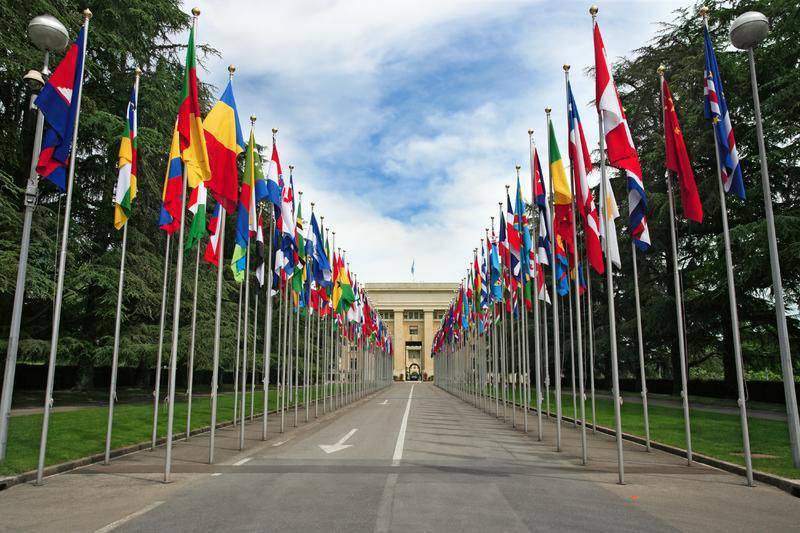 The delegation of the Russian Federation at the UN Council in Geneva criticized Western states for violating human rights