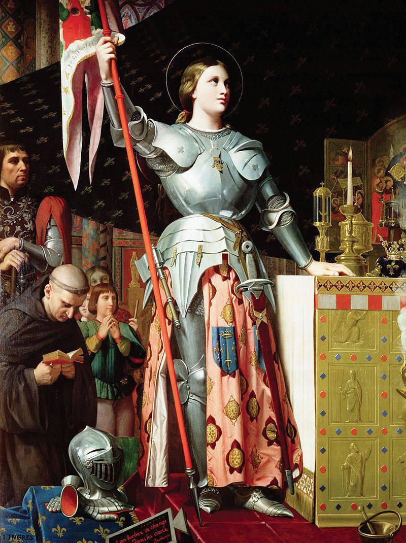 Jeanne d'Arc - kirchliches PR-Projekt zum Ruhm Frankreichs