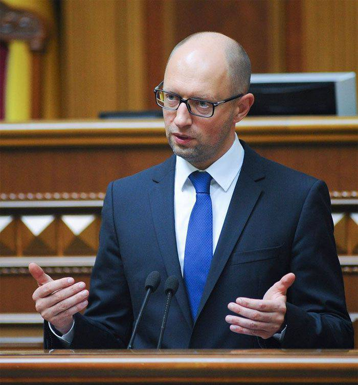 "Yatsenyuk: ""The Ukrainian army stopped the army of Russia and defended the borders of the European Union"""