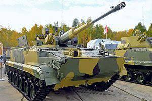 O segundo jovem BMP-3