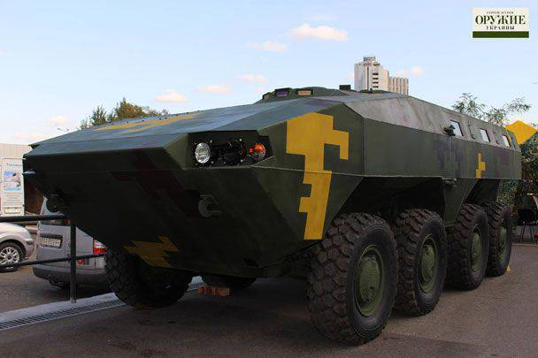In Kiev, an exhibition of new samples of Ukrainian military equipment