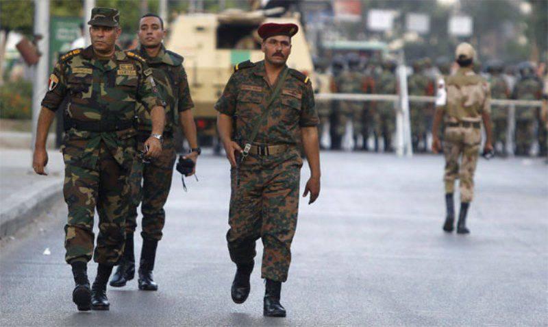 Egito declarou a destruição de terroristas no Sinai