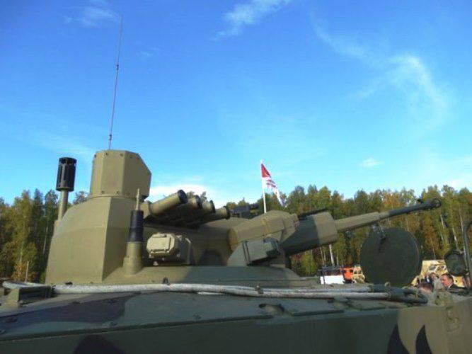 "57-mm 건으로 BMP ""드라군 (Dragoon)"""
