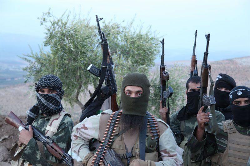 """Amerikalı eğitmenler tarafından eğitilen """"Suriye muhalefetinin"""" temsilcileri, teröristlerin """"Dzhebhat an-Nusra"""" ya bağlı olduklarına yemin ediyorlar"""