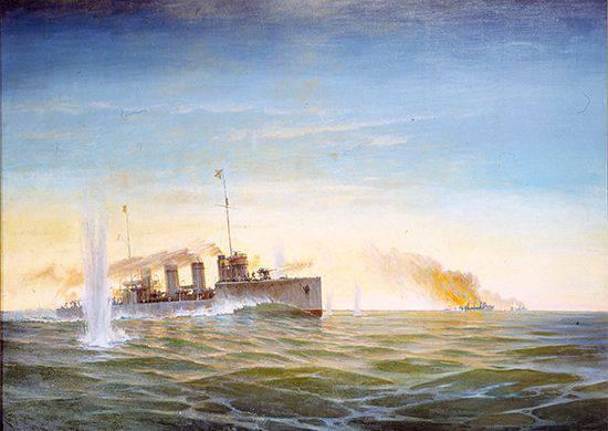Operação de Moonsund (Irbenskaya) 1915 g