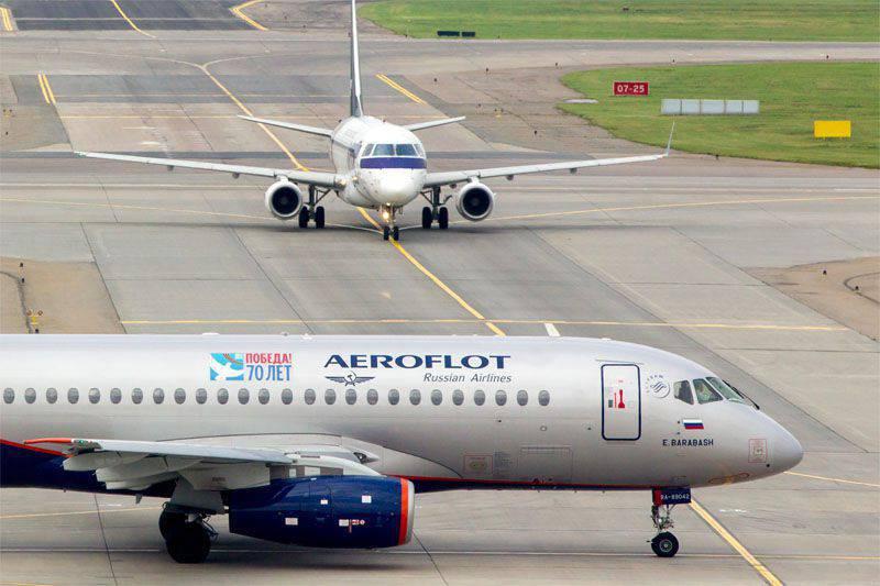 "Yatsenyuk禁止飞机""Aeroflot""和""Transaero""飞往乌克兰"