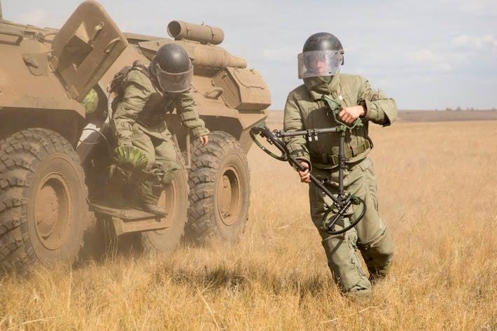 Armée testée dans le potentiel de défense du pays