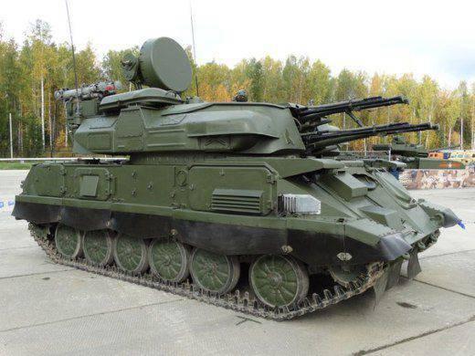 """Cobra""와 ""Mirage""에 치명적인 위협 - 러시아 근대화 된 ""Shilka-M4"""