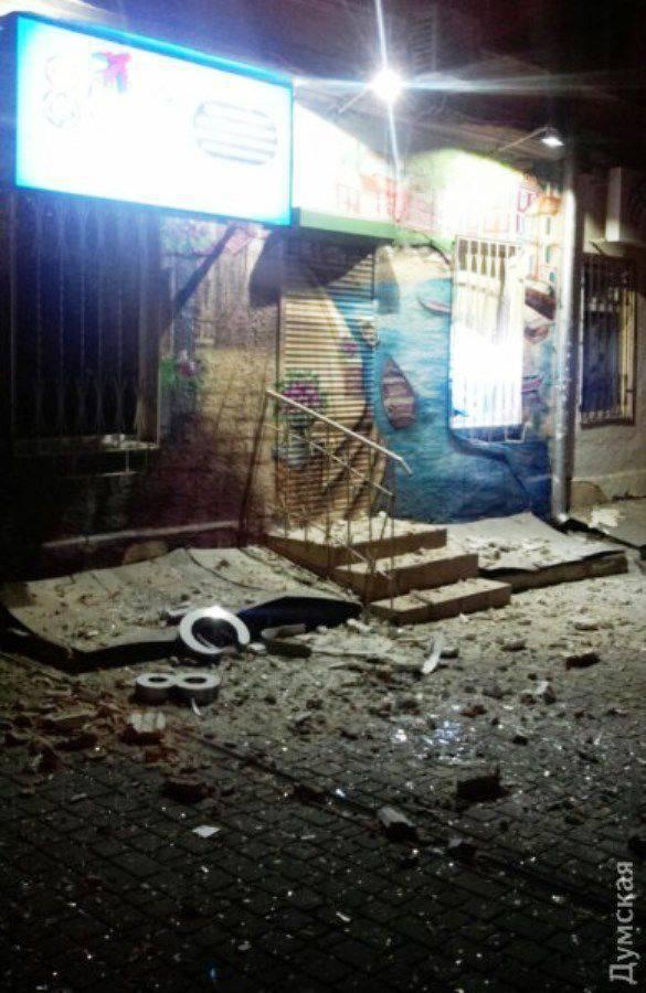 오데사에서는 SBU 건물 근처에서 폭발이 발생했습니다.