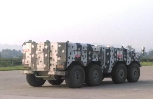 La Chine travaille sur un nouveau BTR hautement explosif