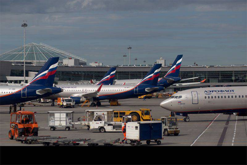 The Russian government is considering possible retaliatory measures after Kiev's decision to ban flights of Russian air carriers to Ukraine.