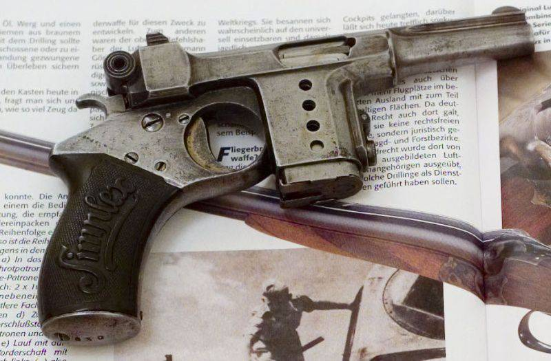Pistol Bergmann Simplex (Bergmann Simplex) and its variants