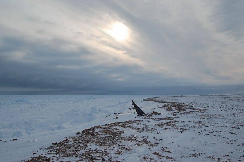 Arctic Island Sredny hava savunma birimlerinin konuşlanma yeri haline geldi