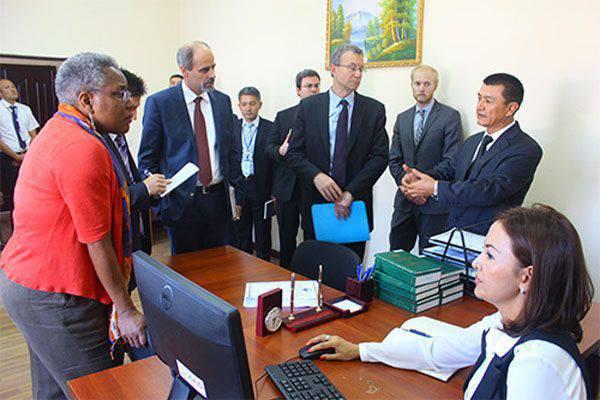 Uzbekistán se queda dormido despertando a la USAID