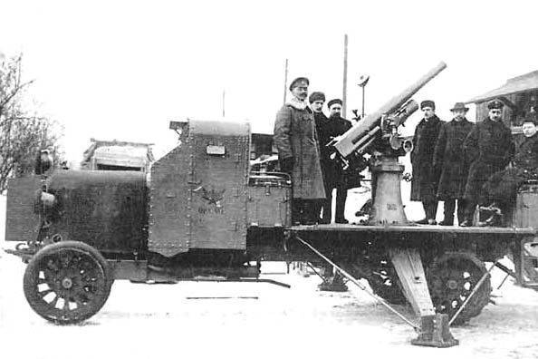 "Anti-aircraft armored car ""Russo-Balt Type T"""