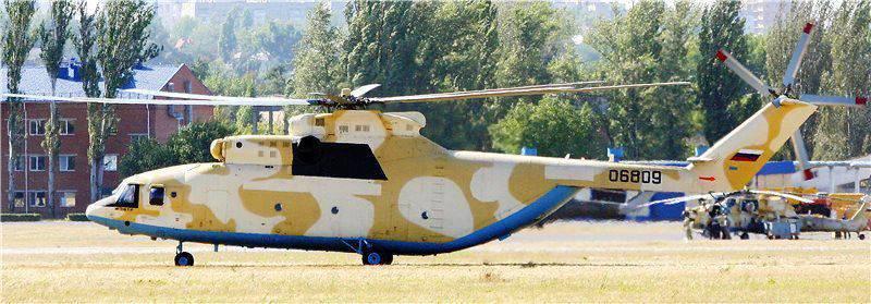 Construiu o primeiro Mi-28HE para a Força Aérea argelina