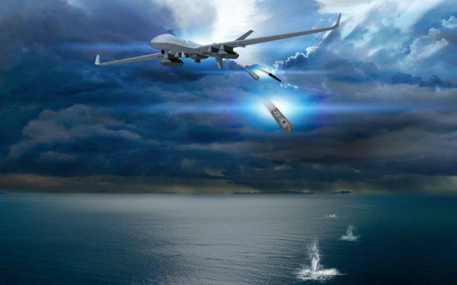 General Atomics ha propuesto el drone antisubmarino del Reino Unido.