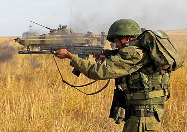 ロシアでは陸軍の日が祝われます