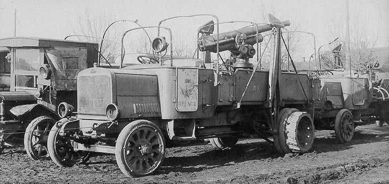 Automobile corazzata contraerea di Austin