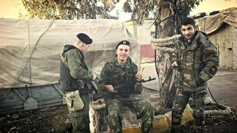 Будни на российской военно-морской базе в Тартусе, Сирия