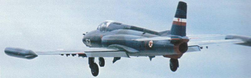 X-21 Navette de l'armée de l'air yougoslave