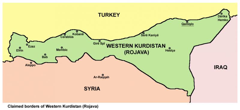 Рожава — земля Советов. Как сражаются и строят новый мир сирийские курды