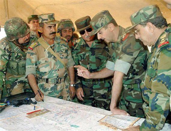 O estado do exército sírio antes da batalha decisiva
