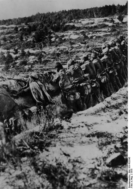 """""""Fue la fiesta del diablo ..."""" Sturm Gallipoli"""